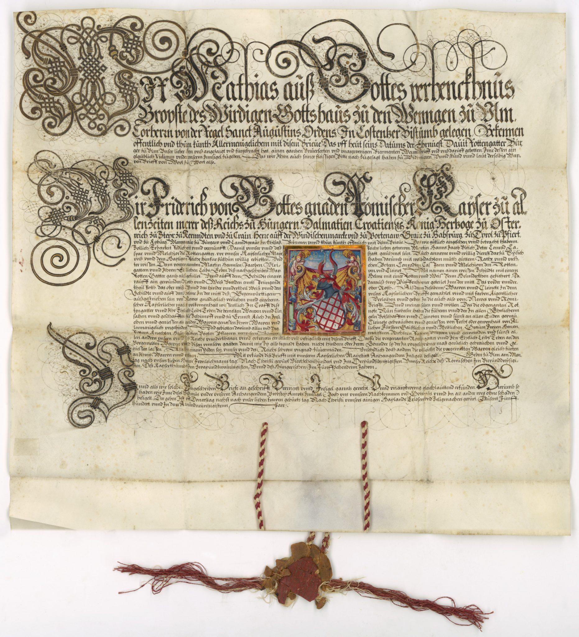 S0529_2019_Vidimus-eines-1473-ausgestellten-Wappenbriefes_AV-58_W